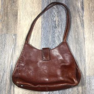 Fossil Leather Handbag Purse.
